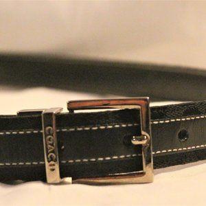 Small Black Coach Belt